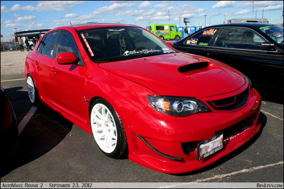 2012 Subaru Sti >> Red Subaru WRX STI - BenLevy.com