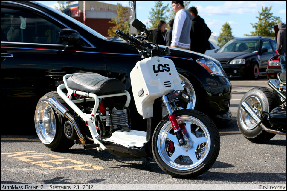 Modified Honda Ruckus - BenLevy.com
