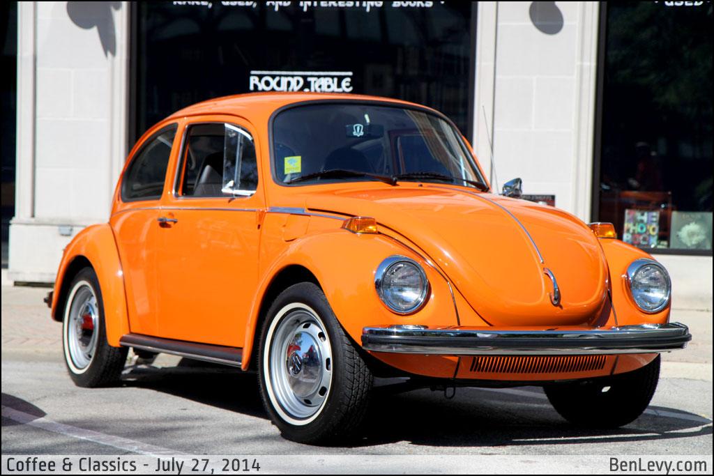 Orange Vw Beetle