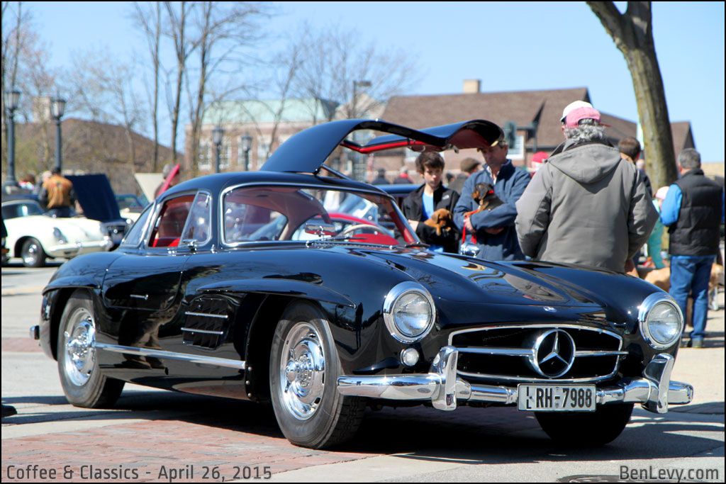 New Lamborghini 2018 >> Black Mercedes-Benz 300SL (Gullwing) - BenLevy.com