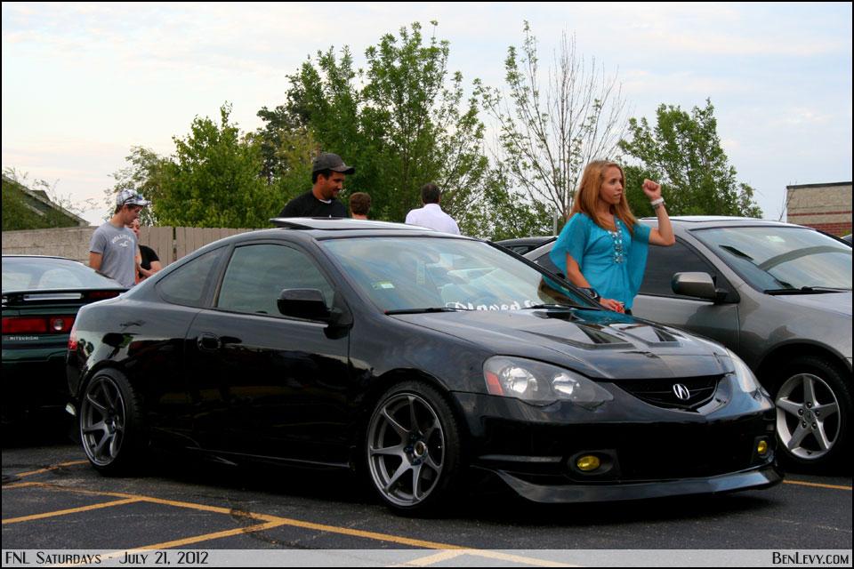Black Acura RSX - BenLevy.com