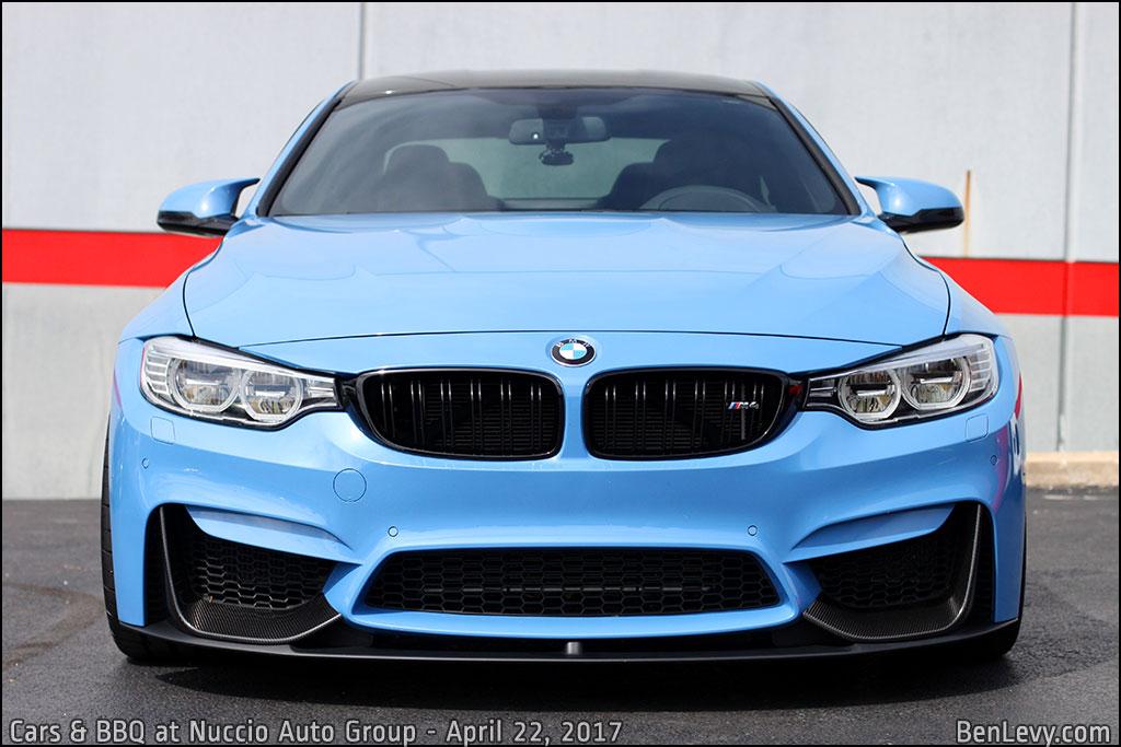 Lexus New Car >> Blue BMW M4 front - BenLevy.com