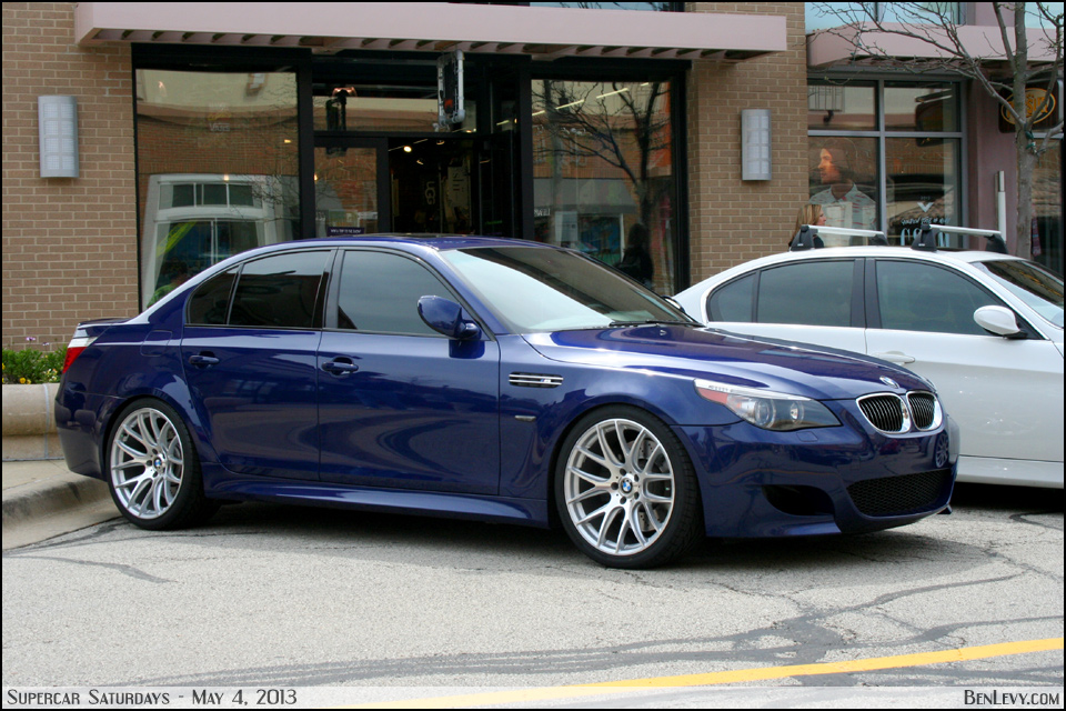 E60 Bmw M5 In Interlagos Blue Benlevy Com