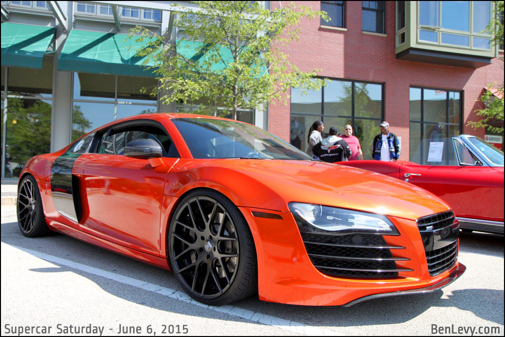 Audi R8 In Burnt Orange Benlevy Com