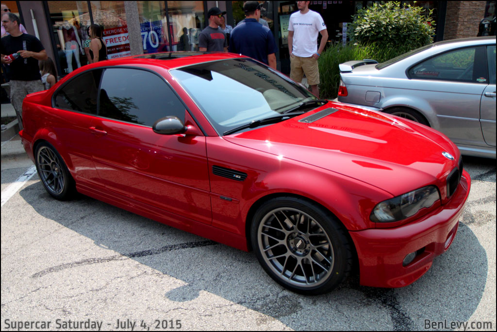 E46 Bmw M3 In Imola Red Benlevy Com