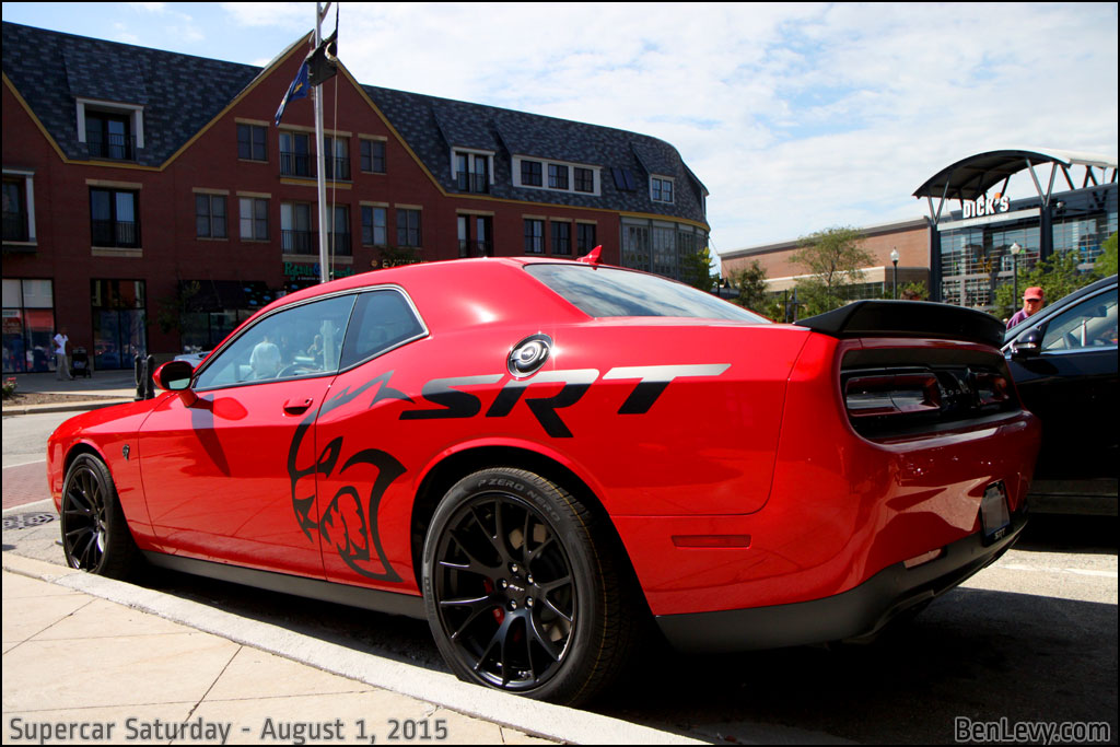 Audi New Cars >> Red Dodge Challenger Hellcat - BenLevy.com