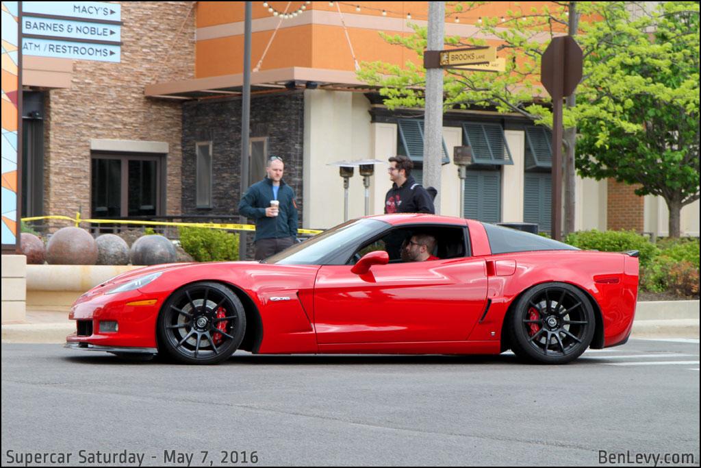 New Aston Martin >> Red C6 Corvette Z06 - BenLevy.com