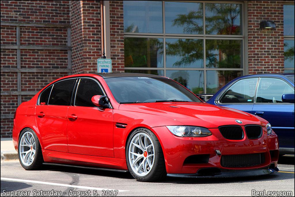 Lexus New Car >> Red E90 BMW M3 - BenLevy.com