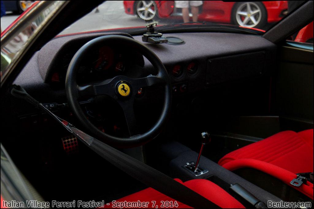 Audi New Cars >> Ferrari F40 interior - BenLevy.com