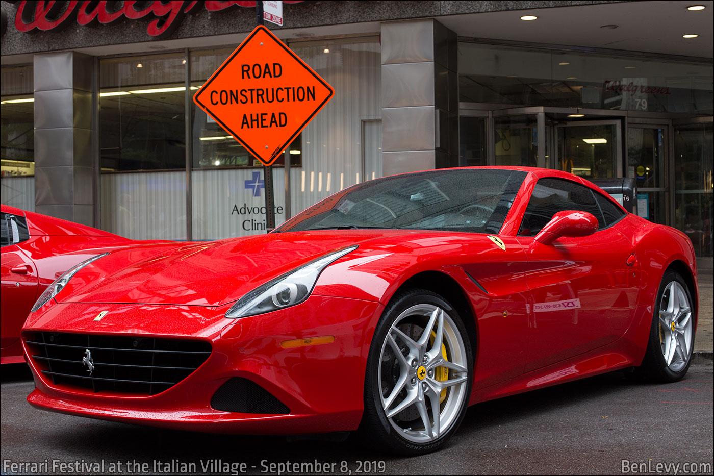 Red Ferrari California T Benlevy Com
