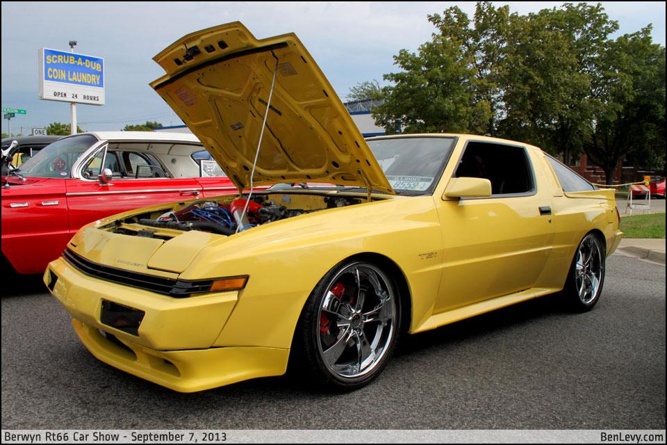New Mercedes Benz >> Yellow Chrysler Conquest TSi - BenLevy.com