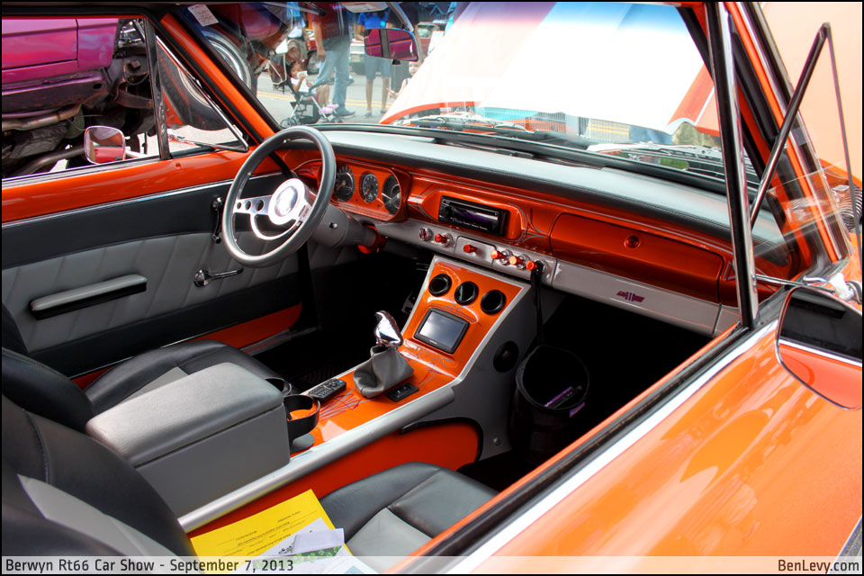 Custom Chevy Nova interior - BenLevy.com