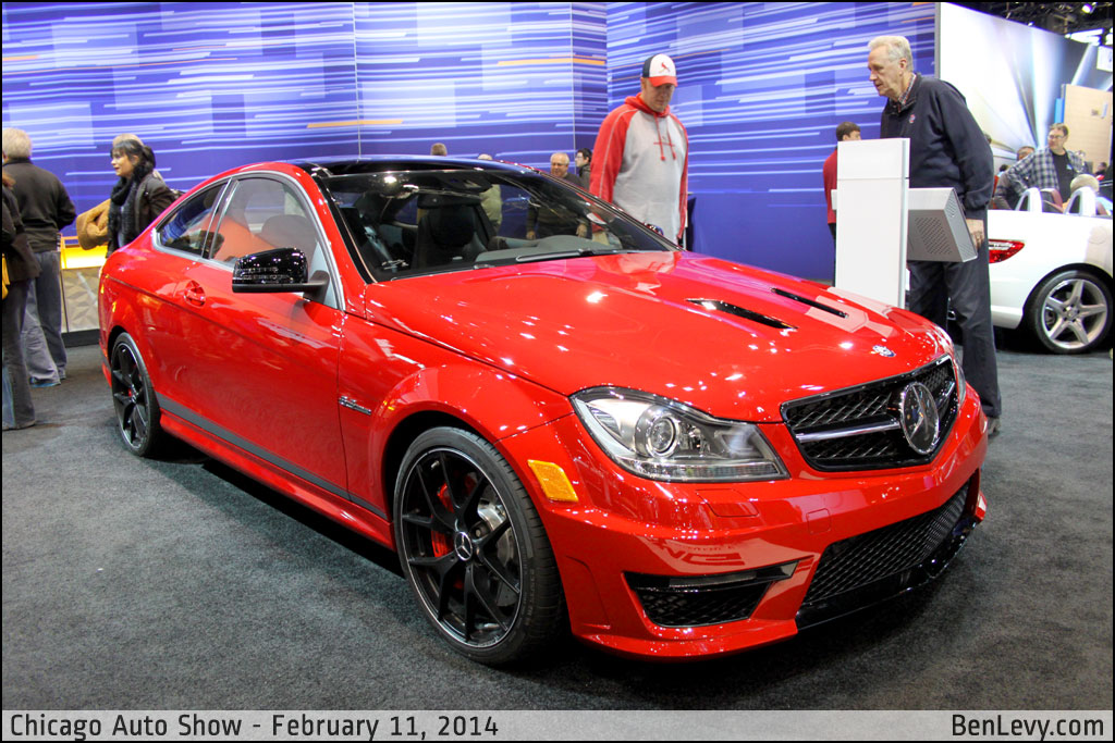 New Aston Martin >> Red Mercedes-Benz C63 AMG Coupe - BenLevy.com