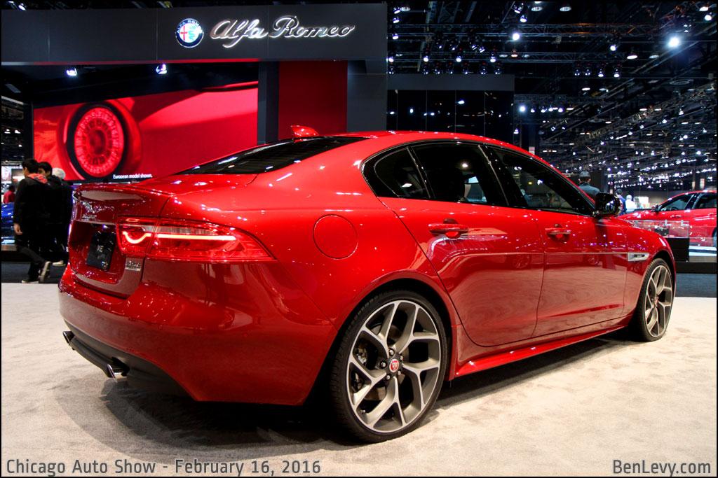 Cars Com Chicago >> Jaguar XE R-Sport in Italian Racing Red - BenLevy.com