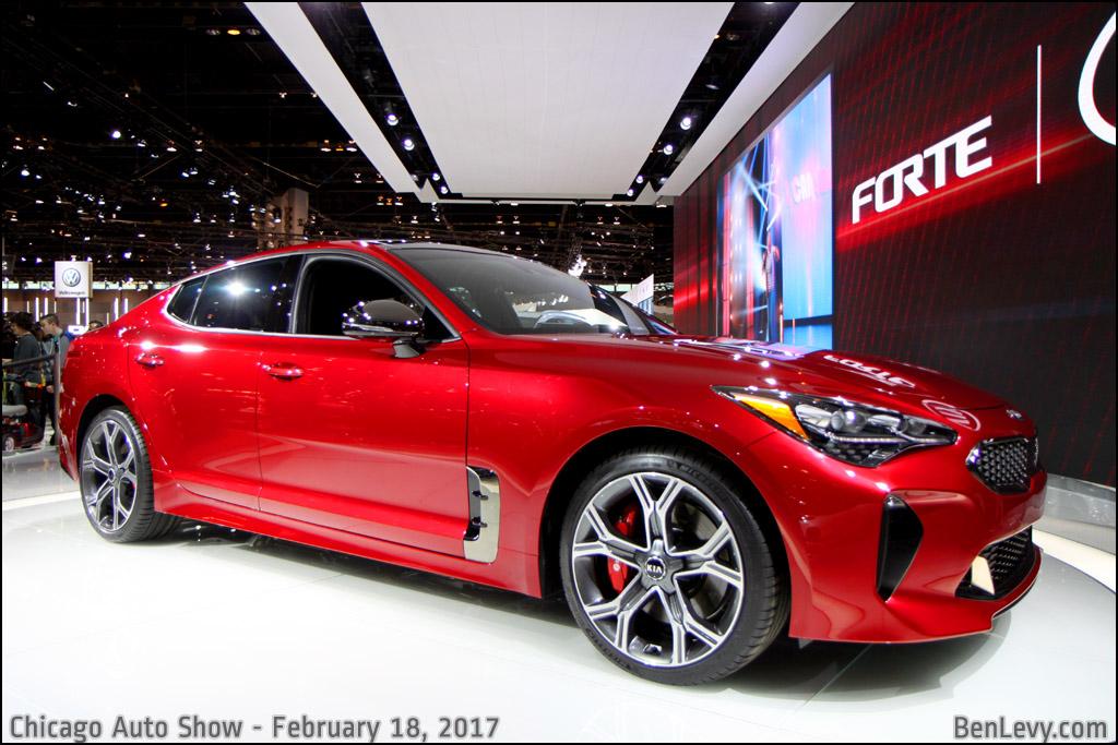 New Mercedes Benz >> Red Kia Stinger - BenLevy.com
