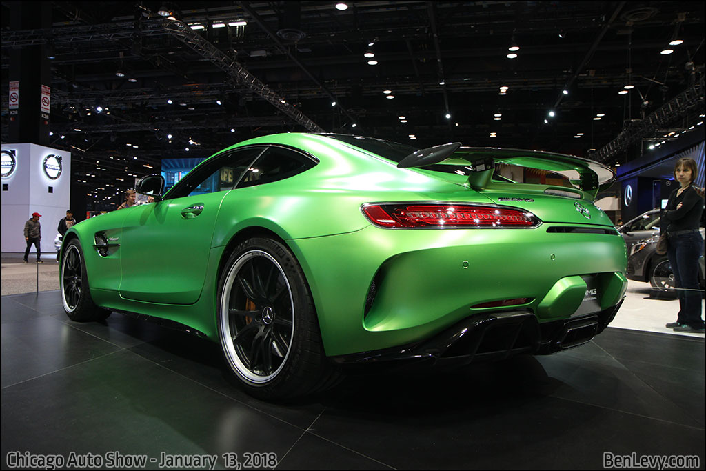 Mercedes Benz Amg Gt >> AMG GT-R in AMG Green Hell Magno - BenLevy.com