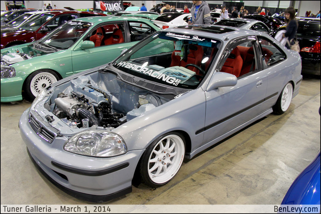 Ek Civic Coupe With K Series Engine Benlevy Com