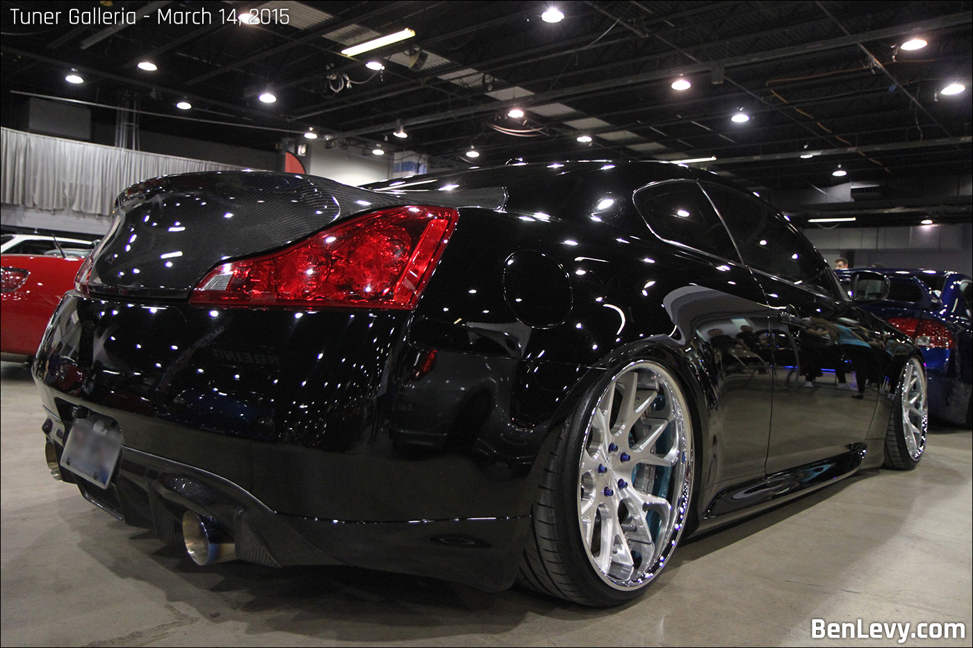 Black Infiniti G37 coupe - BenLevy.com