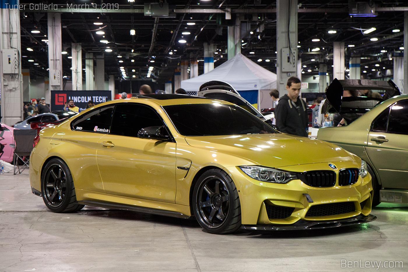 Phoenix Yellow F82 Bmw M4 Benlevy Com