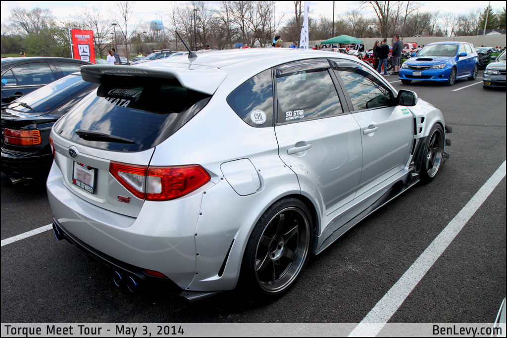 New Mazda 3 >> Silver WRX STI Hatchback - BenLevy.com