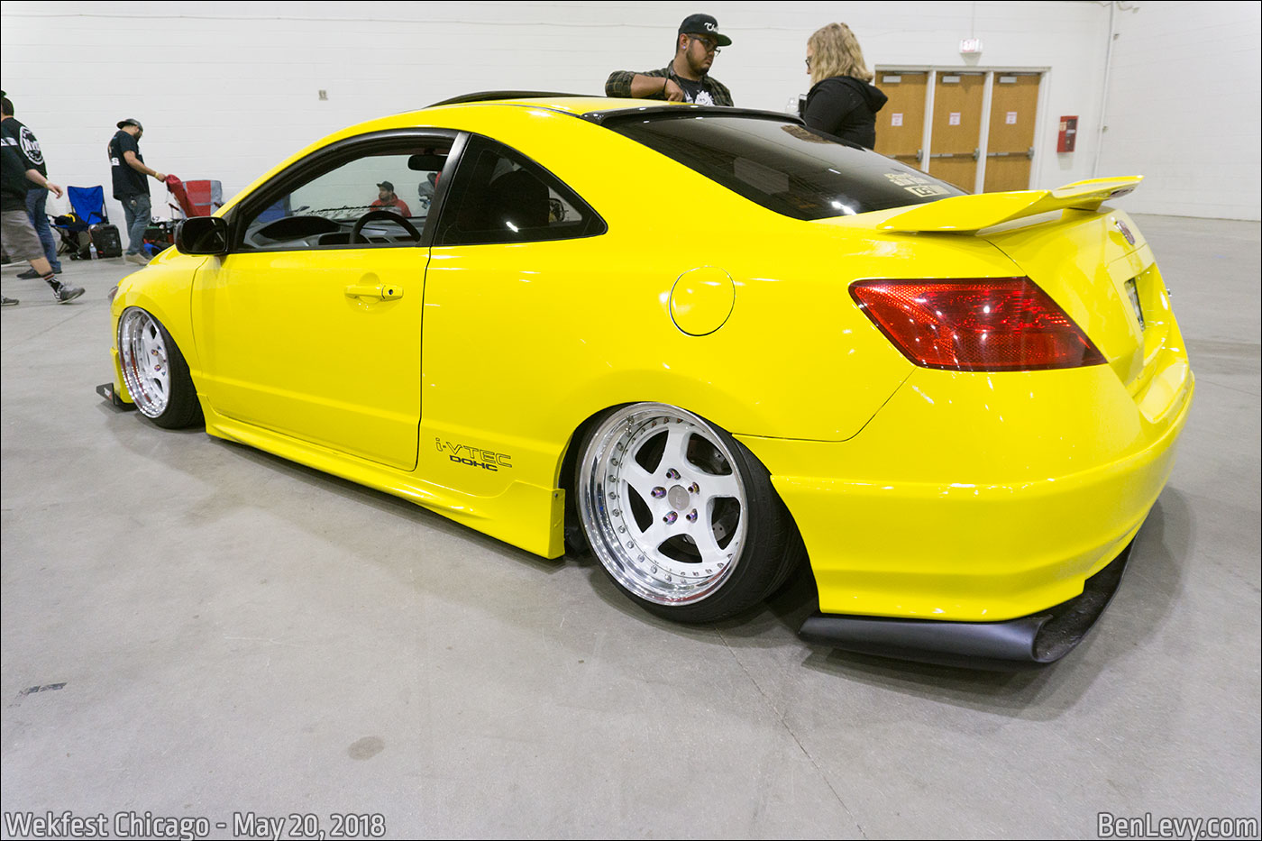 Bmw >> Yellow Honda Civic Si coupe - BenLevy.com